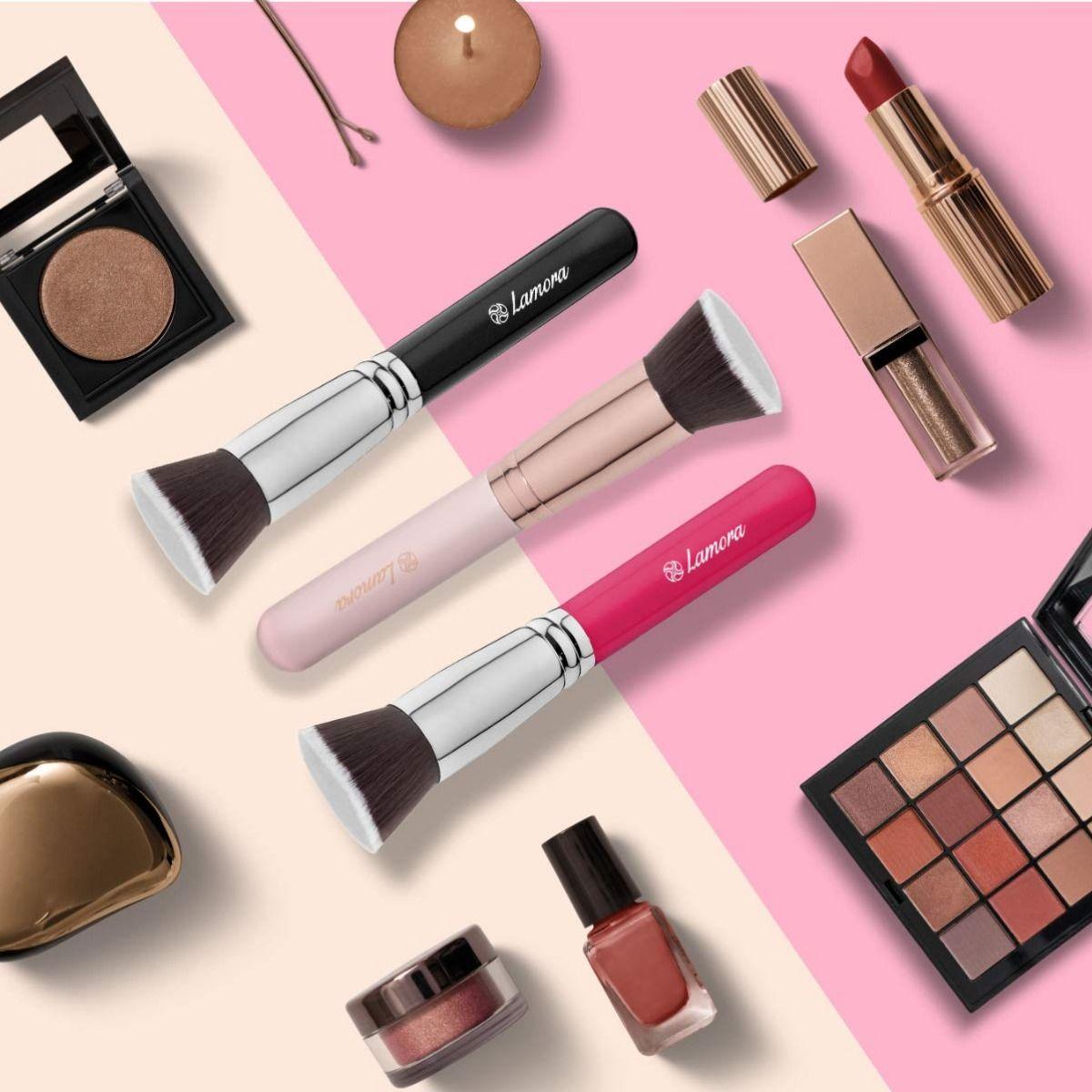 Foundation Makeup Brush Flat Top Kabuki for Face Perfect