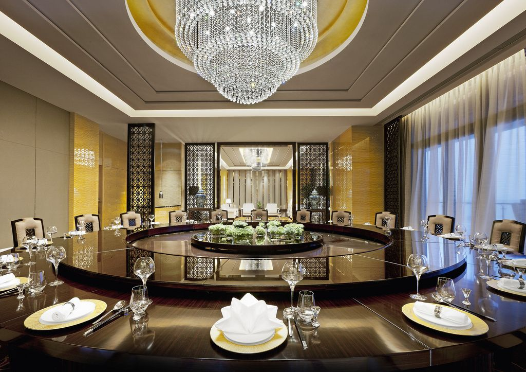 Sheraton Huzhou Hot Spring Resort  Yue Chinese Restaurant Unique Stk Private Dining Room Inspiration
