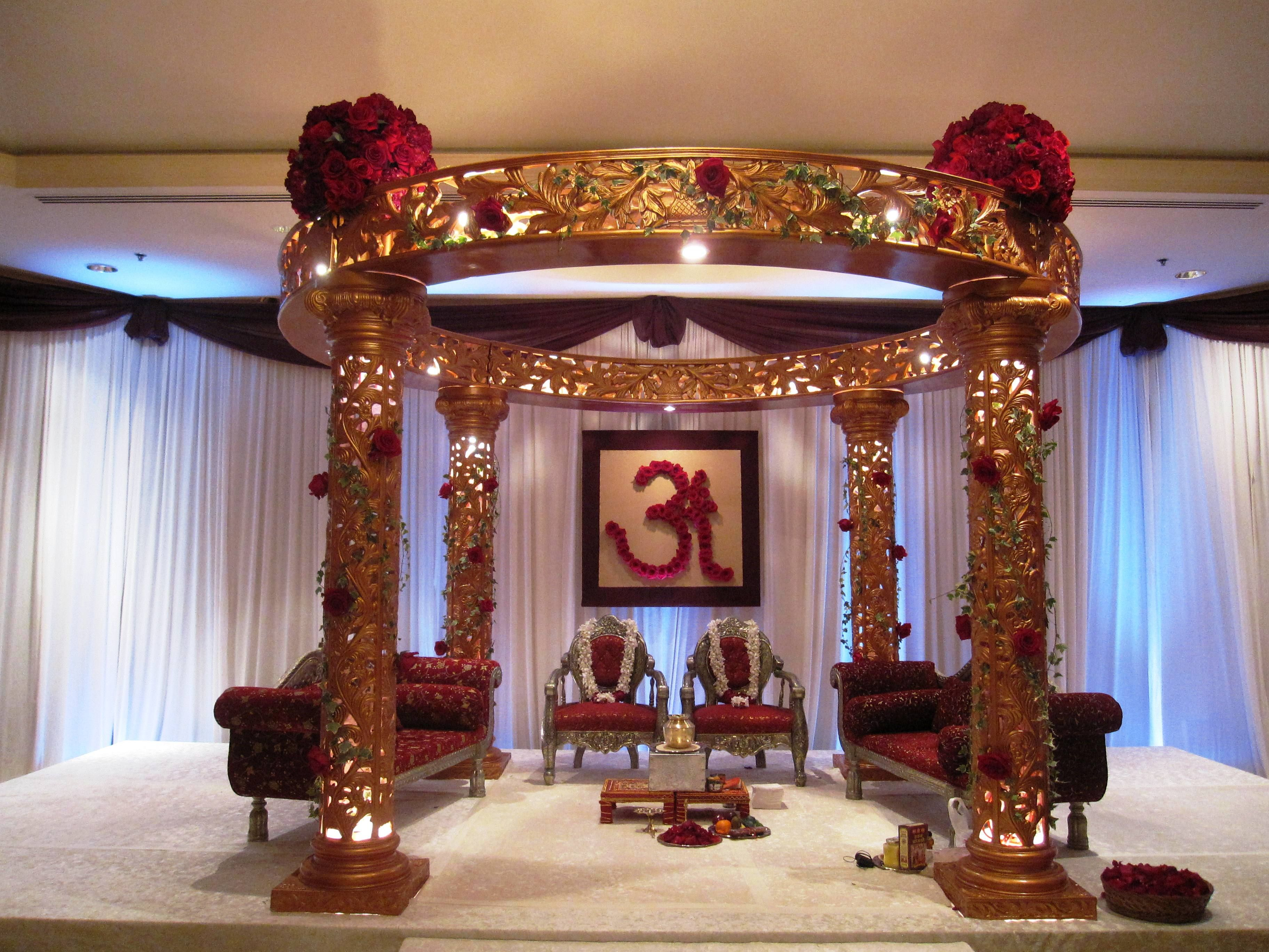 Indian Wedding Chairs For Bride And Groom -
