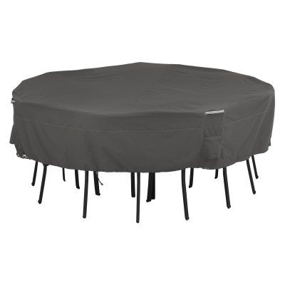 Classic Accessories Ravenna Square Table and Chair Set Cover - 55-710-015101-EC