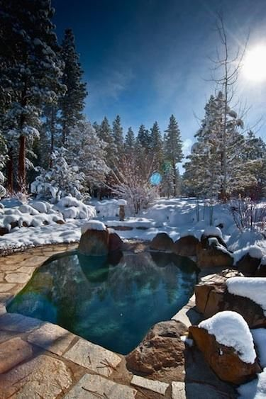 Tahoe Hot Springs >> Pinterest