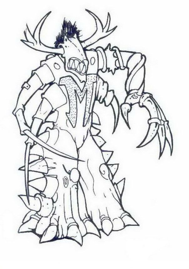 Gormiti Coloring pages for kids. Printable. Online Coloring. 12 ...