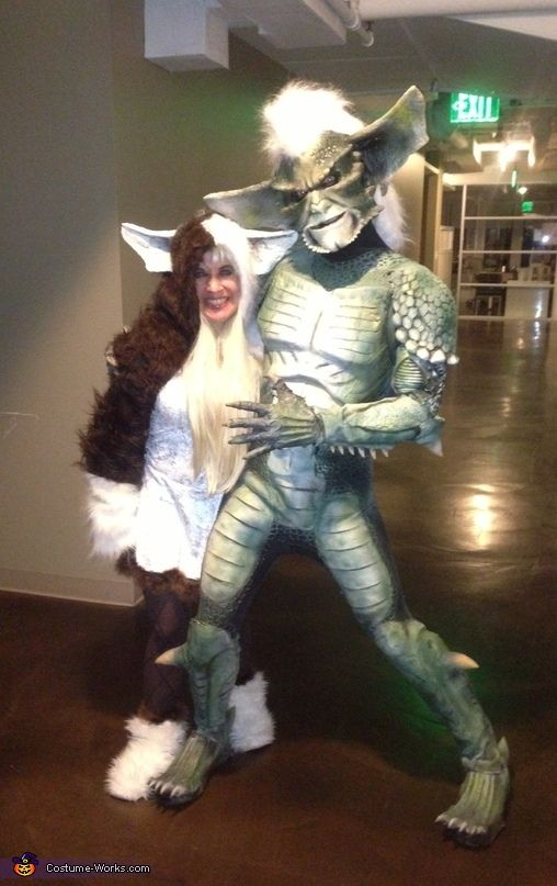 Gremlins Gizmo and Stripe - Halloween Costume Contest at Costume - scary homemade halloween costume ideas
