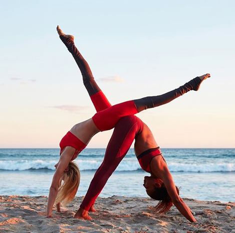 yoga yogainspiration  couples yoga poses couples yoga