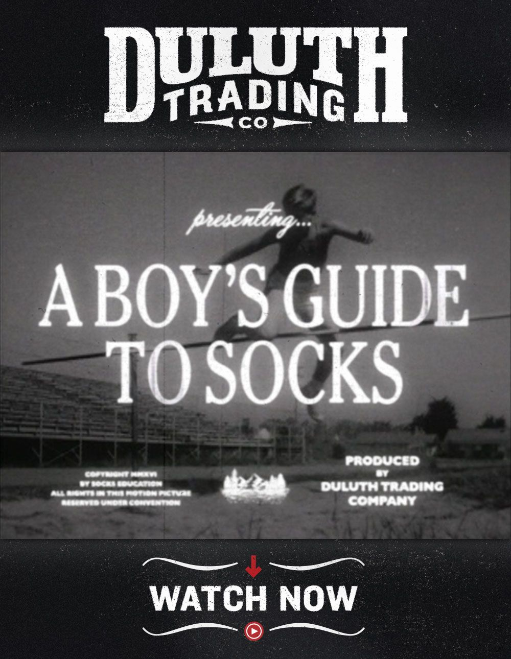 When you make the right choices, socks will always be enjoyable. Tune in to this public service announcement, brought to you by Duluth Trading Co., and find out how you can improve your socks life.