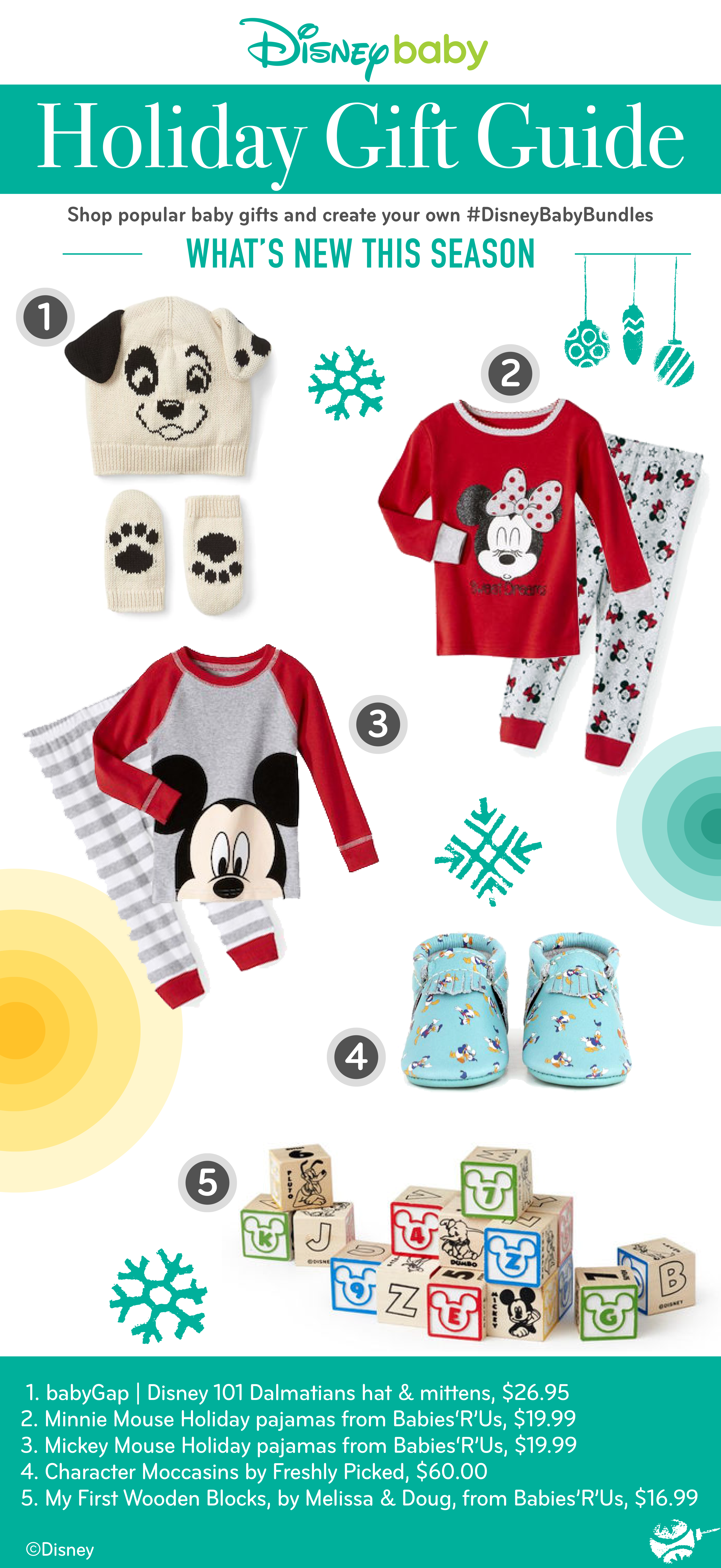Disney Baby Holiday Gift Guide What s New This Season Shop popular