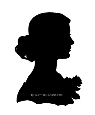 search woman face silhouette