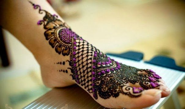 Modern Arabic Mehndi Designs 2014 : Latest bridal mehndi designs 2014 23 indian prints and patterns