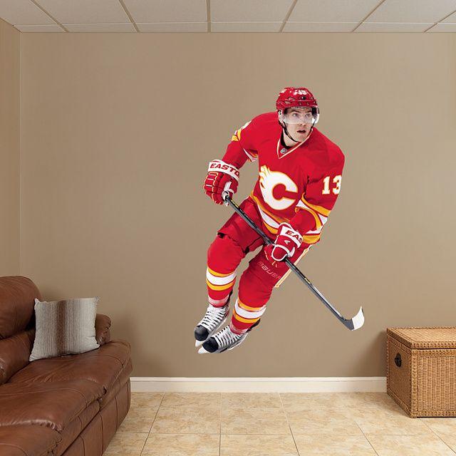 Calgary Flames Fathead Wall Decals u0026 More | Shop NHL Fathead & Mike Cammalleri REAL.BIG. Fathead u2013 Peel u0026 Stick Wall Graphic ...