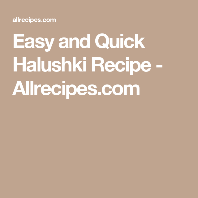 Photo of Easy and Quick Halushki