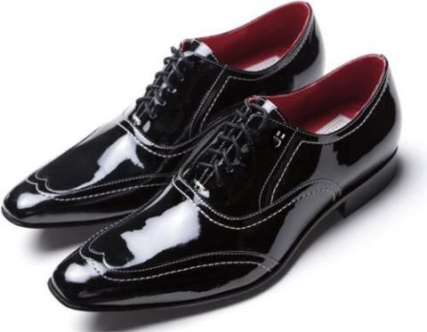 c399e4c25 sapato-social-masculino-em-verniz | CASAMENTO•NOIVO | Sapato social ...