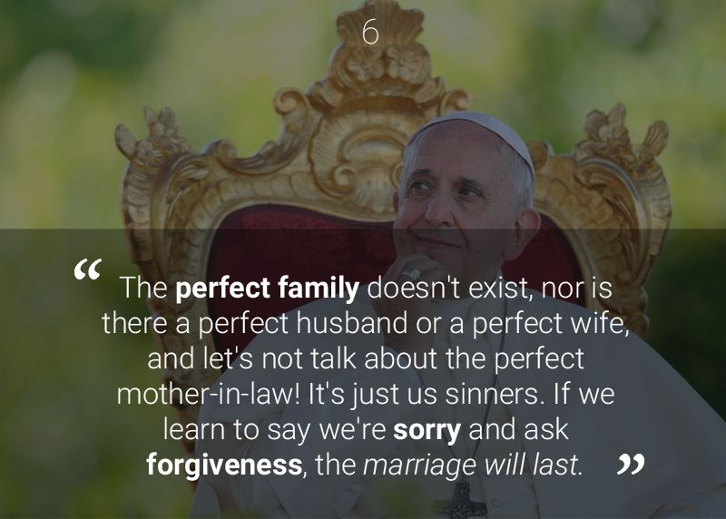 Catholic Quotes About Family: Pope Francis Quotes, Pope