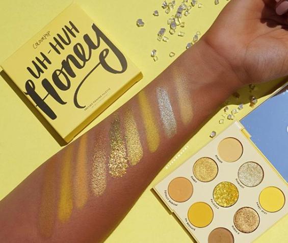 Colourpop Uh Huh Honey Pressed Powder Eyeshadow Palette