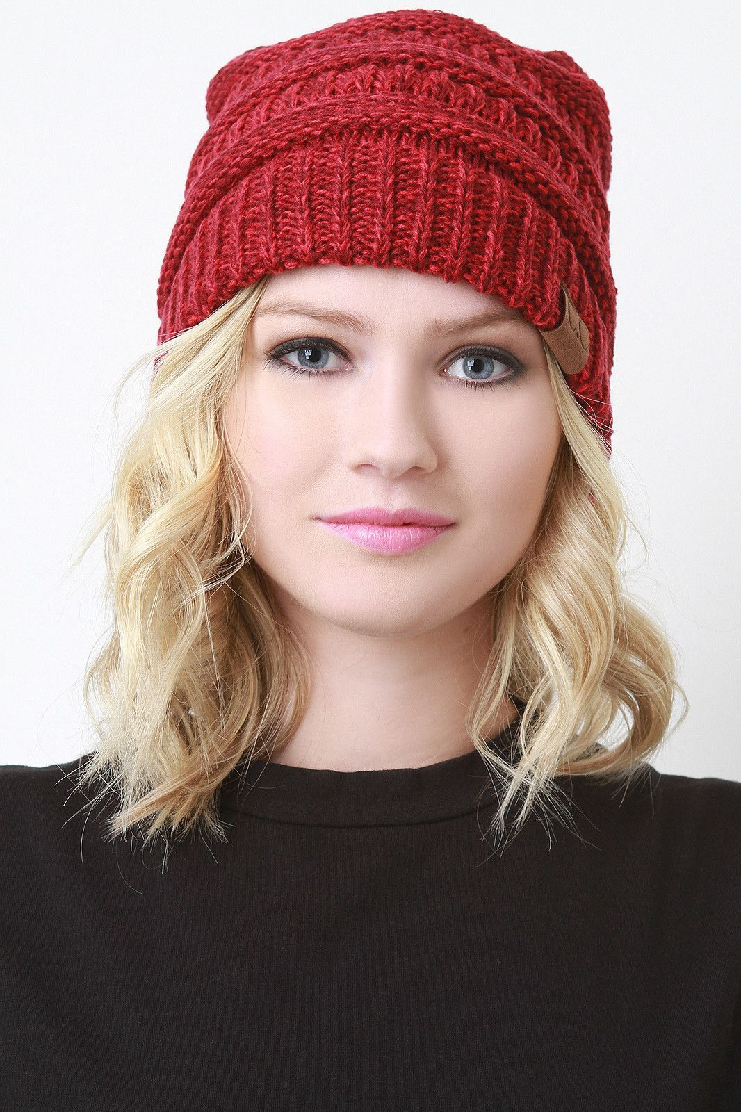 How to floppy wear knit hat