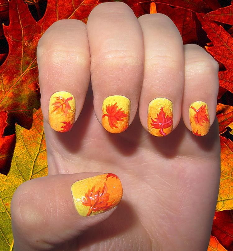 13 Dreamy Fall Nail Art Designs That Are More Than Exciting | Ombre ...