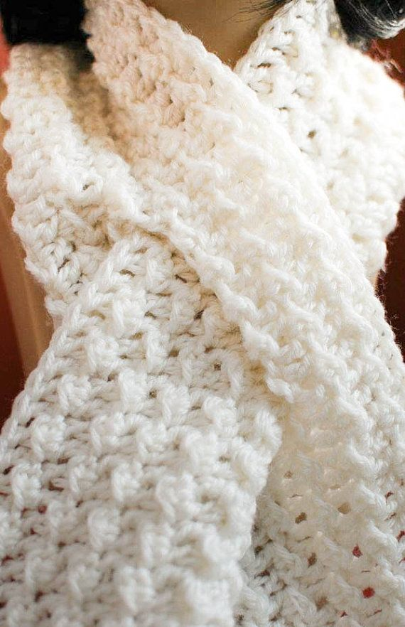 Crochet Pattern Keyhole Scarf With Spiral Flower Immediate Pdf