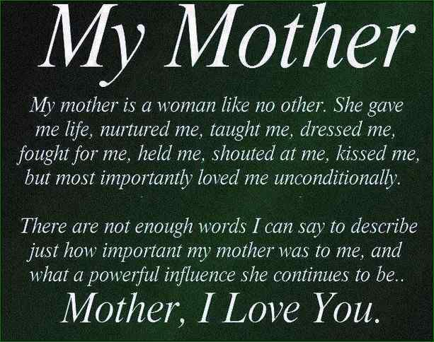 Quotes For Moms Happy Birthday Inspirational Quotes Mom  Inspiration For Moms .