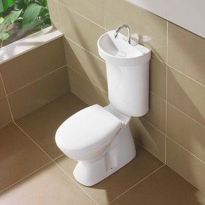 Water Saving And Space Saving Toilet/sink Combo