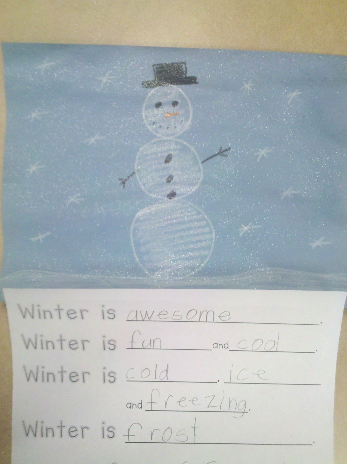 Fun In First Grade Winter Writing