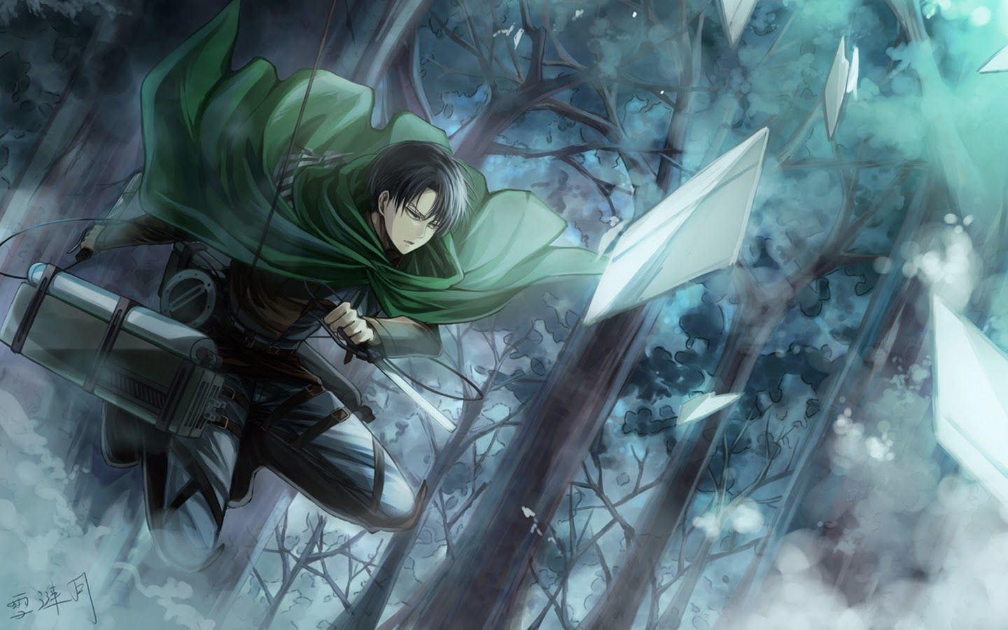 shingeki no kyojin levi wallpaper - Buscar con Google
