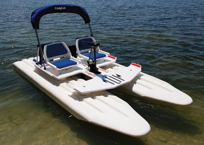Small catamaran boats boat pinterest catamaran for Small fishing boats for sale