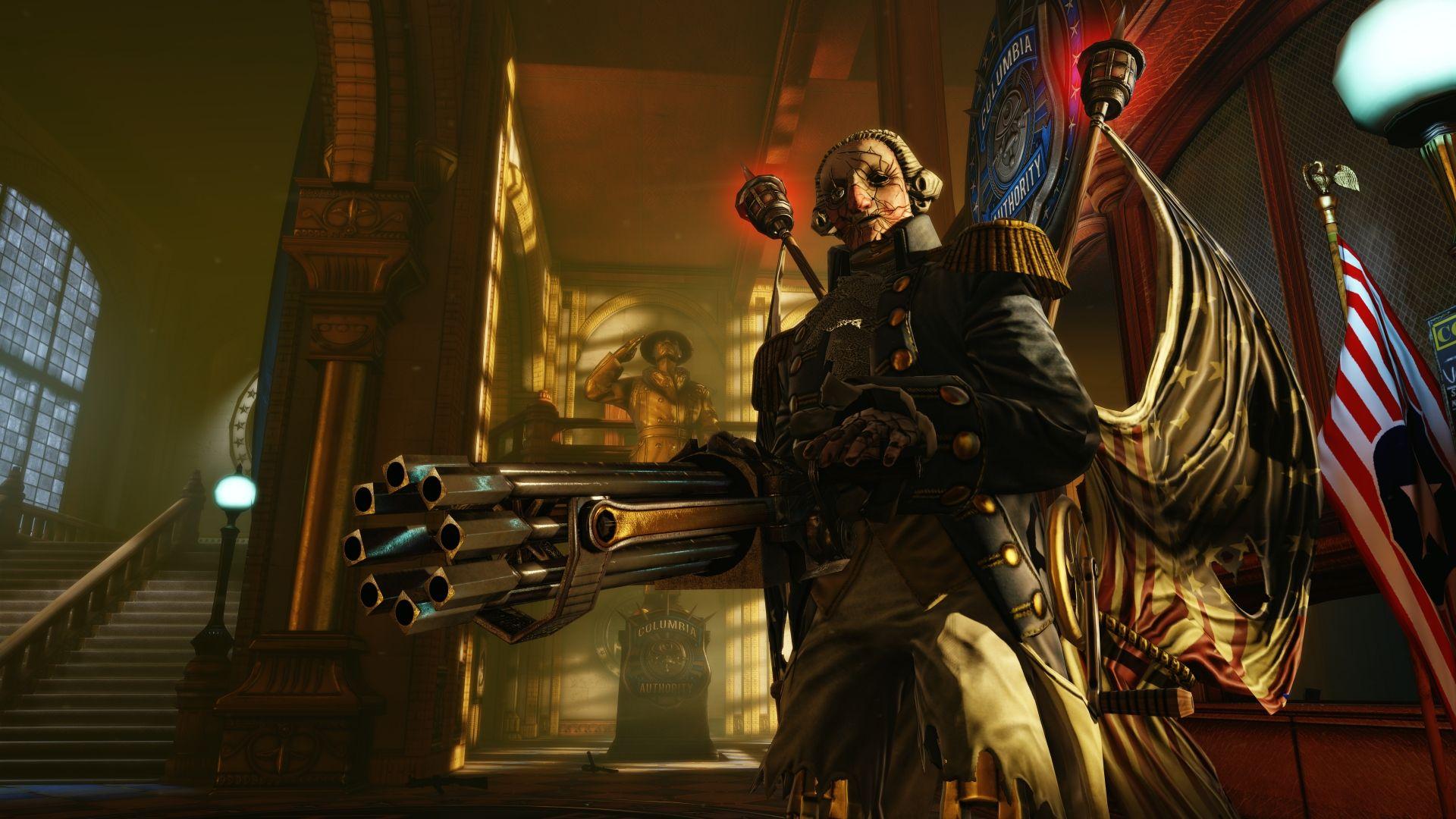 Bioshock Infinite Cosplay Patriot Bioshock Infinite… i...