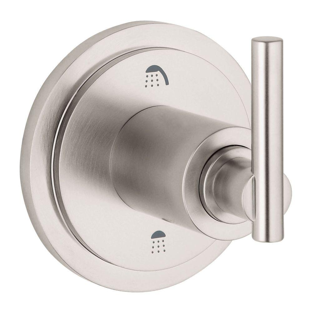 Grohe Atrio Lever Single Handle 3 Way Diverter Valve Trim Kit In