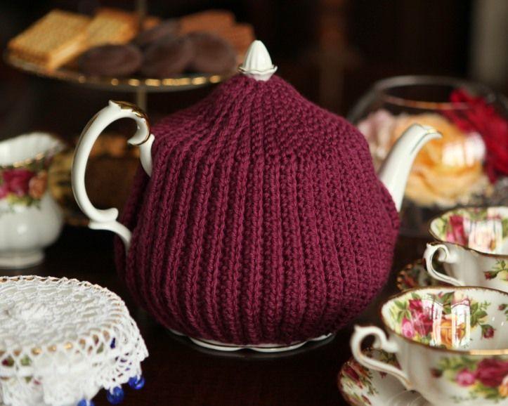 Reversible Crochet Brioche Tea Cosy Free Pattern Craft
