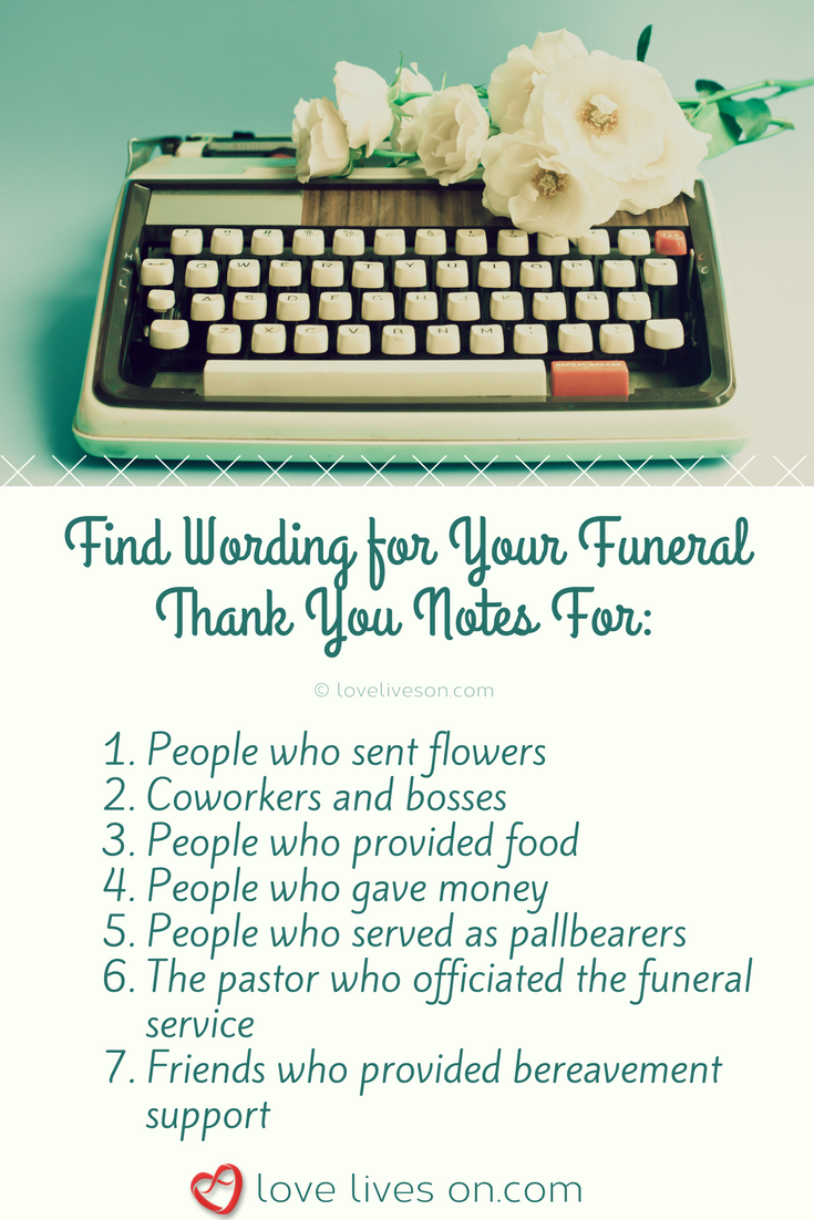 33 best funeral thank you cards funeral thank you cards the best free wording samples to use for your funeral thank you cards izmirmasajfo