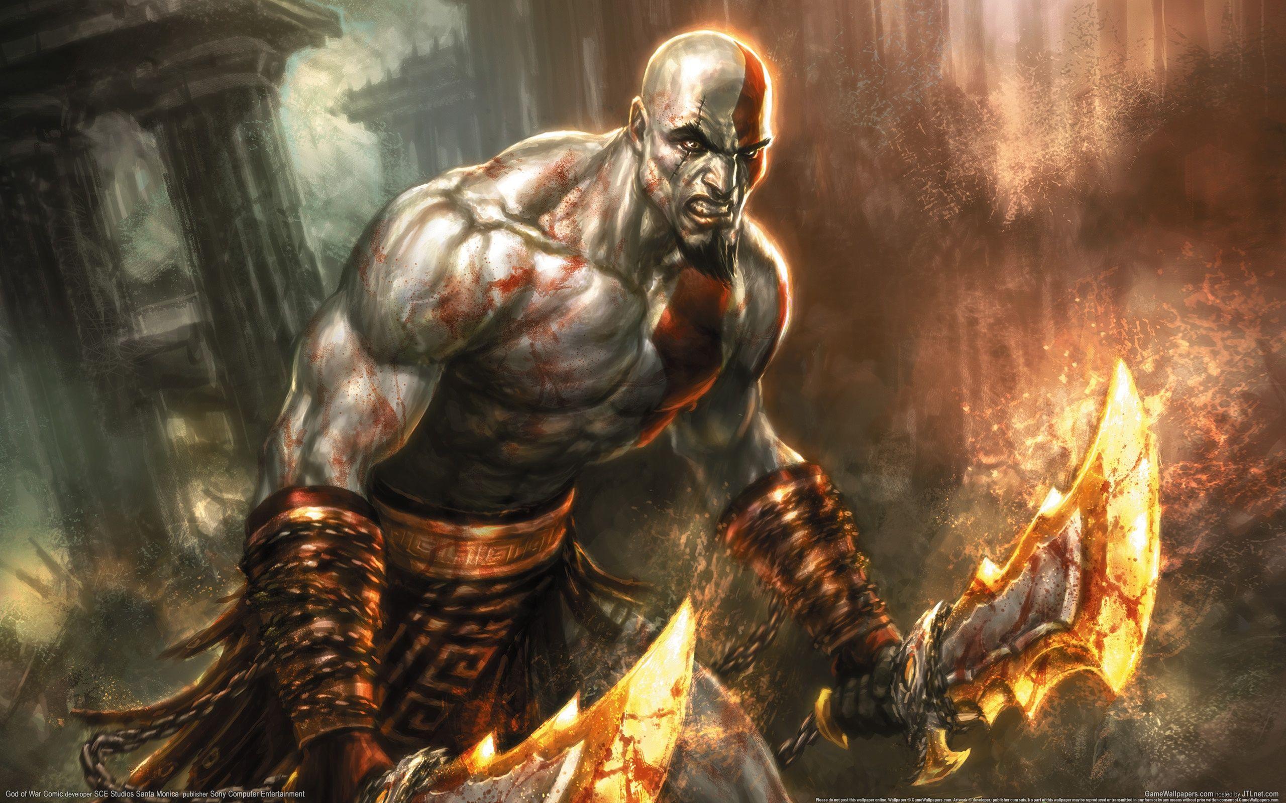 Video Game God Of War Wallpaper In 2020 Kratos God Of War God Of War War