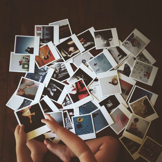 Image result for pile of polaroid pictures