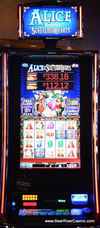 One of the many cool slot machines we have here at Bear River Casino Hotel in Loleta, CA BearRiverCasino.com