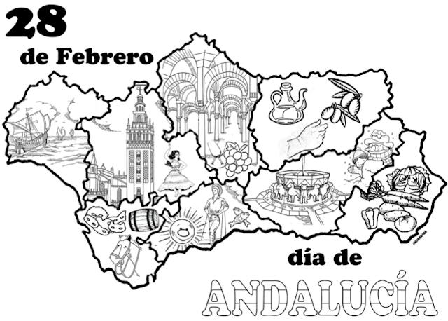 Actividad Día De Andalucía Dia De Andalucia Andalucía Día De La Cruz