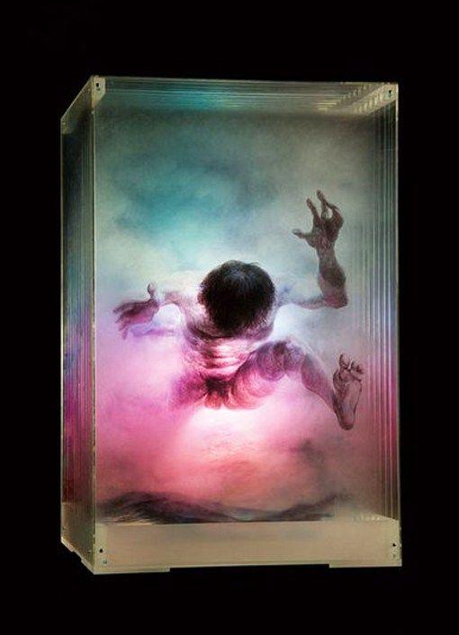 xia xiaowan 3d glass paintings