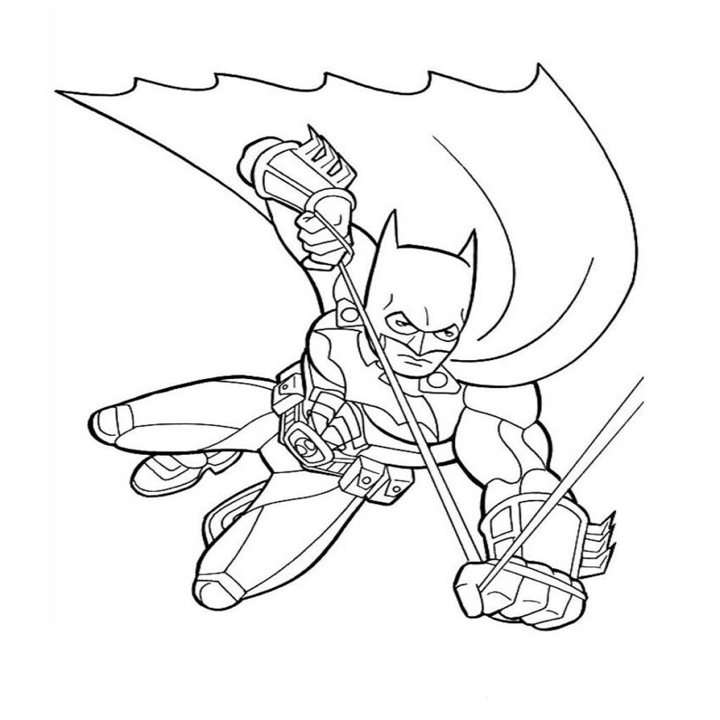 Pin von KONPANYA KARTOONS auf batman para colorear | Pinterest