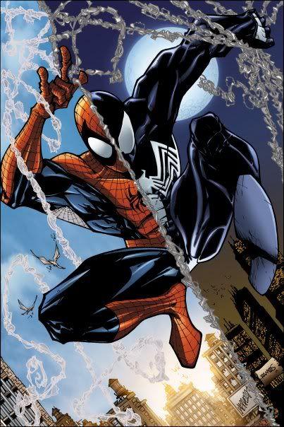 Black Spiderman Comic Spider-Man Blac...