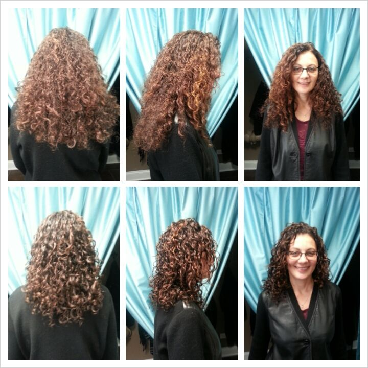 Ouidad Before And After By Andrea Curlyhaircurlyhair