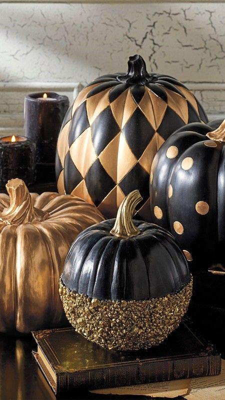 70 Fantastic Pumpkin Painted Ideas for a Colorful Halloween #pumkinpaintideas