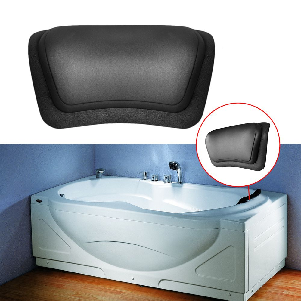 Newest Massage Pillow Spa Bathtub Pillow Bathroom Neck Shoulder Back ...