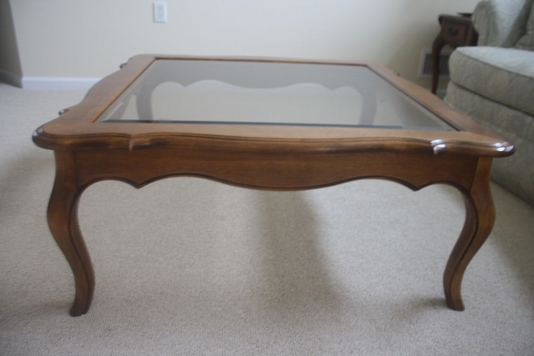 Glass coffee table in living room wood coffee table with glass insert  contemporary living room sets