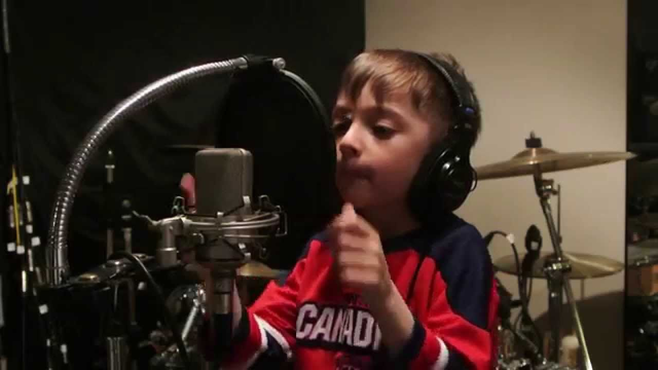 """Montreal Canadiens Playoffs Tristan Sings/Chante """"O Canada"""""""
