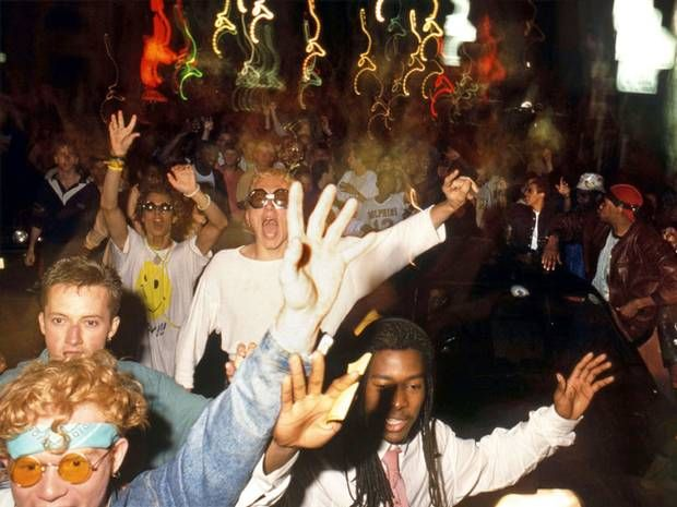 A street party in London's Tottenham Court Road, July 1988