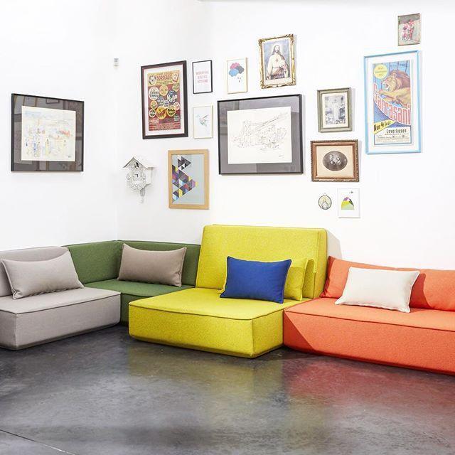 Canapes Cubit Canape Modulable Multicolore Haus