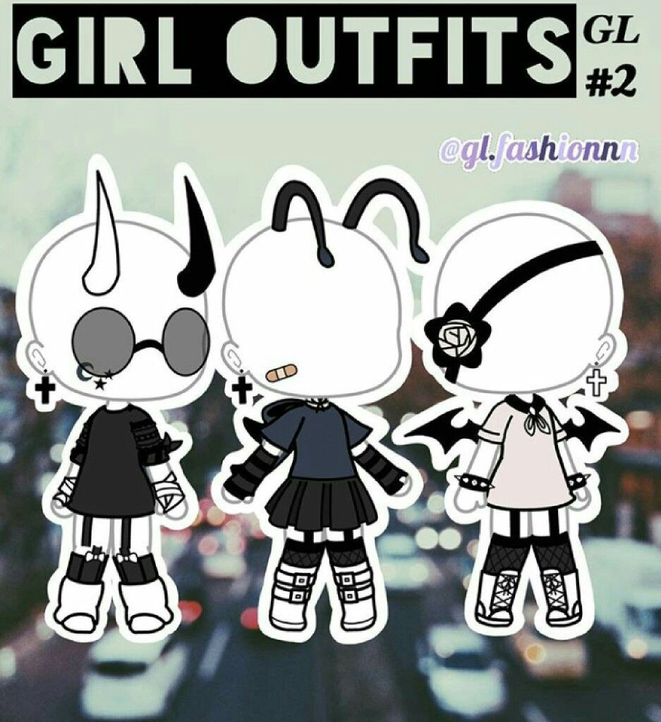 Gacha Life Outfits Ideas Girls