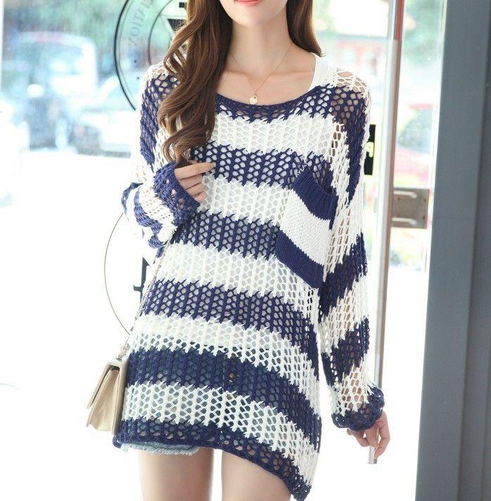 Wild Fashion Crochet Sweater inspiration