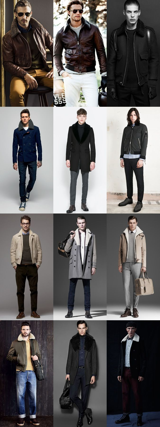 Shearling Coats, Jackets, Boots and Accessories