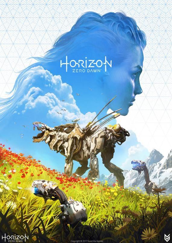 Horizon Zero Dawn Video game Artwork poster