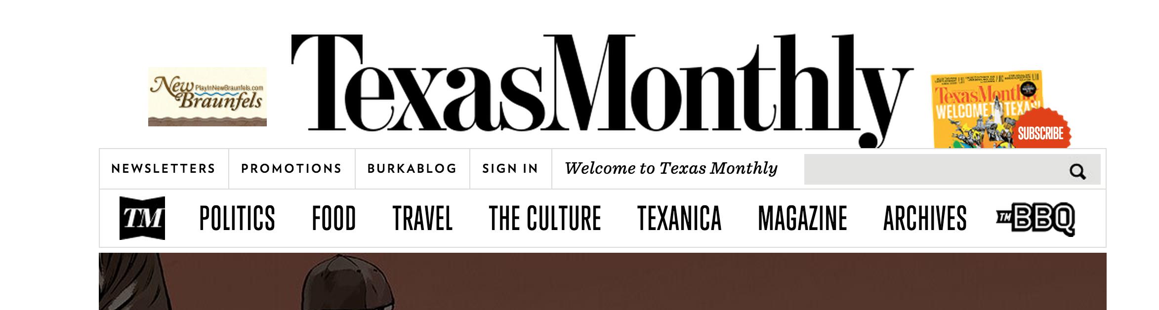 Texas Monthly Texas monthly, Tech company logos, Texas