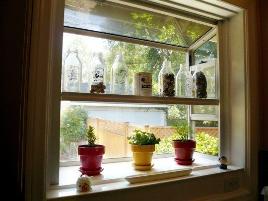 indoor gardening: kitchen window boxes | indoor gardening, indoor