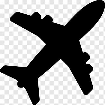 Plane Illustration Airplane Airplane Free Png Airplane Silhouette Plane Silhouette Airplane